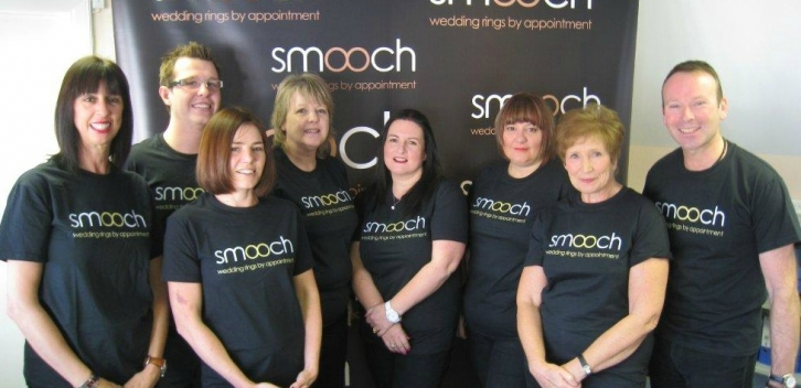 Meet (some of) the team Floss, Damien, Zoe, Jenny, Jackie, Lou, Viv and Stephen