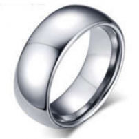 Plain Tungsten Wedding Ring