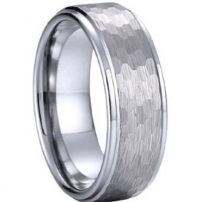 6mm wide Tungsten Mens Wedding Ring