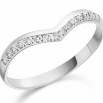 Platinum Diamond Set Wedding Ring